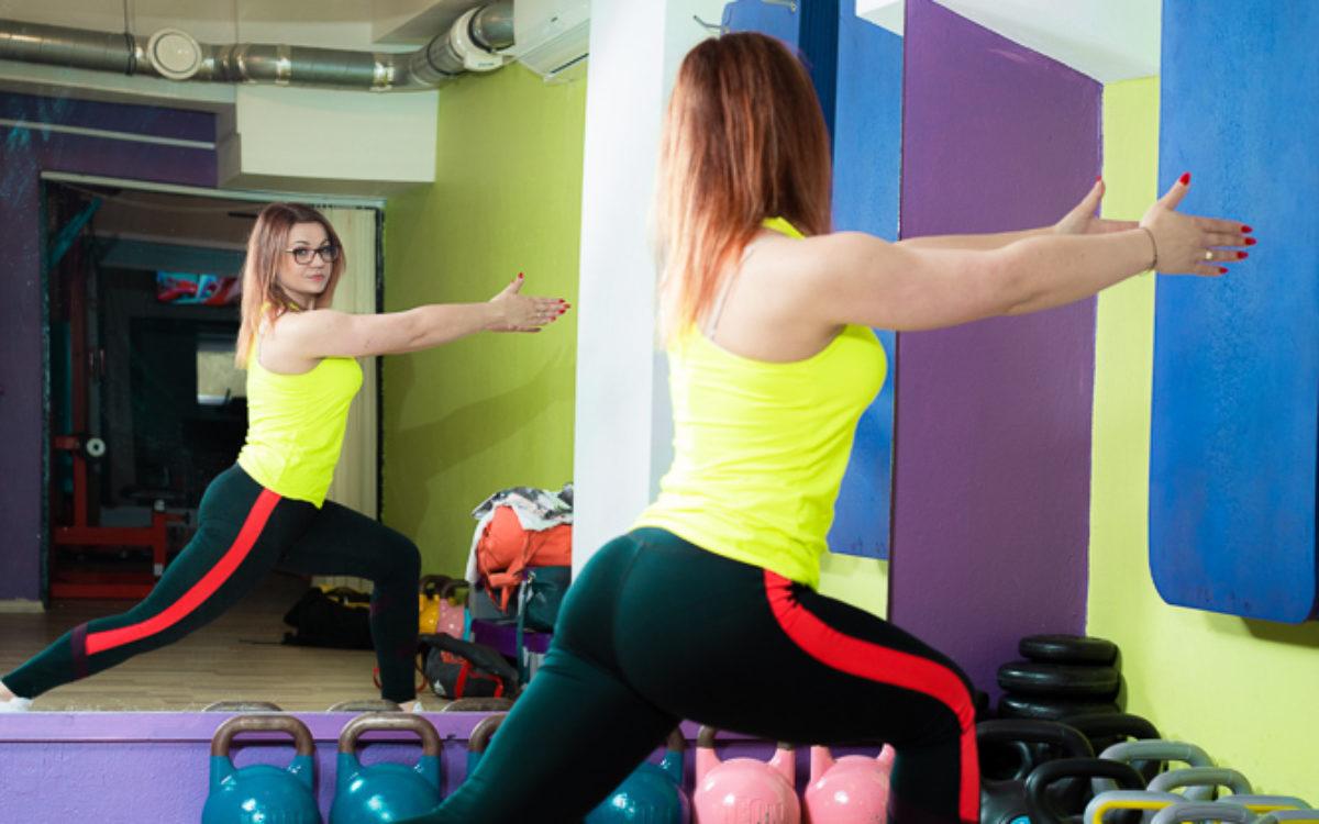 ćwiczenia na stojąco