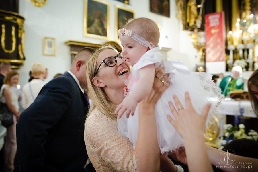 Chrzest Święty Majeczki – zdjęcia